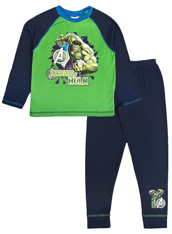Boys The Incredible Hulk Marvel Avengers Pyjamas 7-8 Years: Amazon.es: Ropa y accesorios