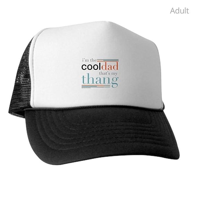 747b24be5d5a1 Amazon.com  CafePress - Modern Family Cool Dad Light - Trucker Hat ...