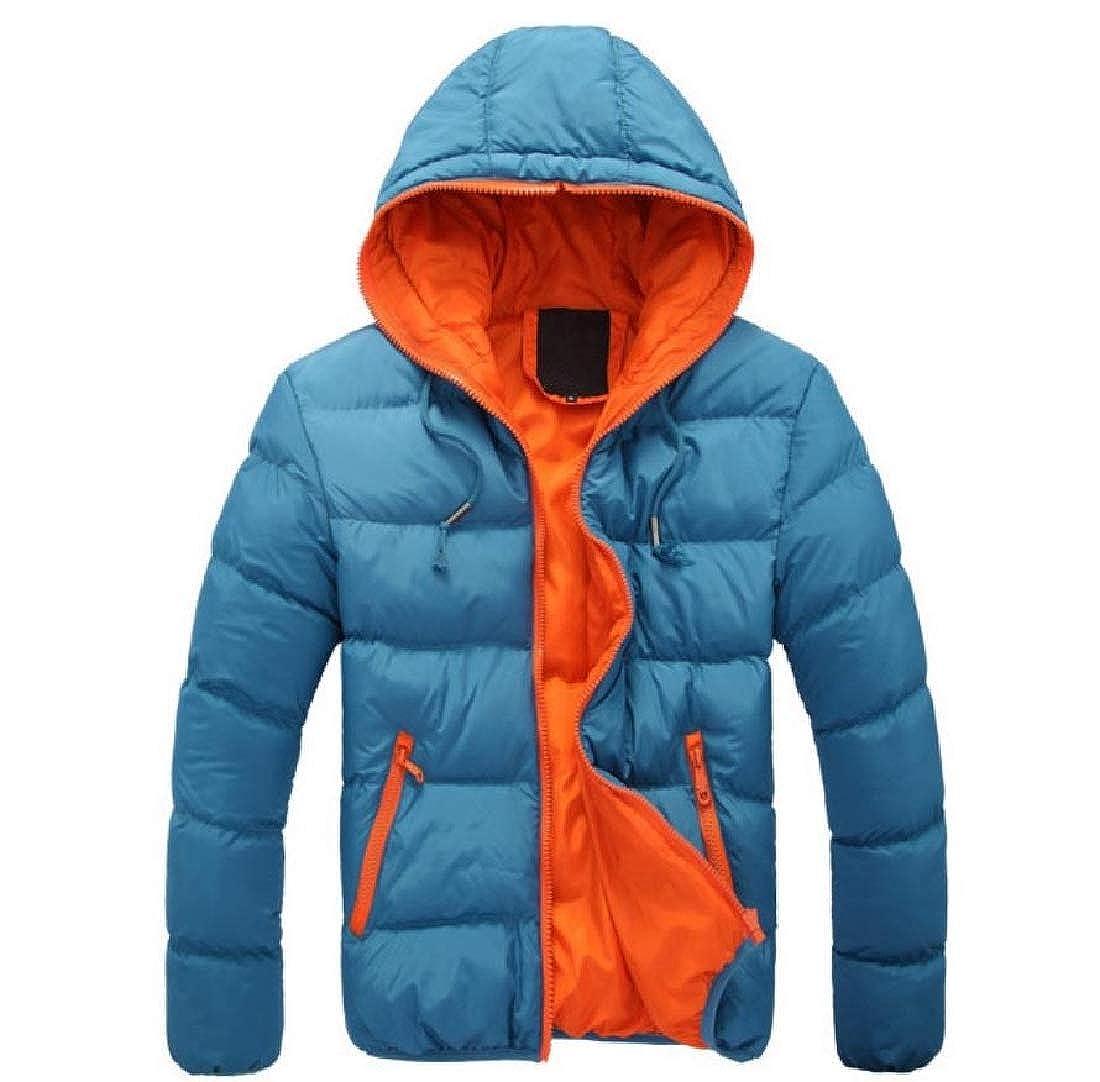 FreelyMen Classic Oversized Regular Warm Candy Color Anorak Jacket