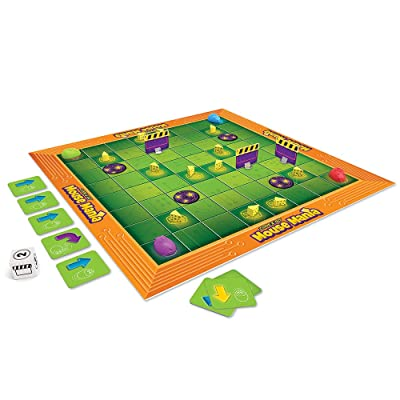 Learning Resources Code & Go Robot Mouse Board Game, STEM, Early Coding Game, Ages 5+: Toys & Games
