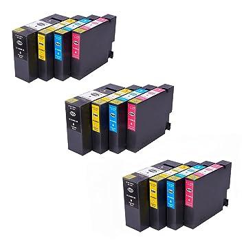 Amazon.com: hotcolor (TM) 12PK COMPATIBLES Canon Ink ...