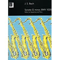Sonata in G Minor BWV 1020: UE17774: For Alto Saxophone and Piano