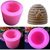 MingXiao Soap Mold Candle Mould Creative Screw Pink Tools Prop
