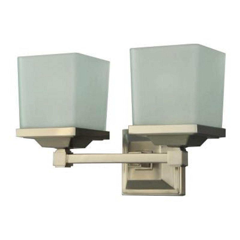 50 off martha stewart living 2 light skylands collection for Amazon bathroom vanity lights