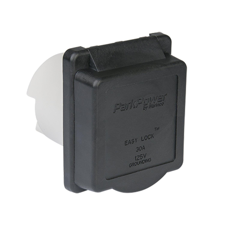 ParkPower 30ARVIB Weekender Power Inlet Black 30A