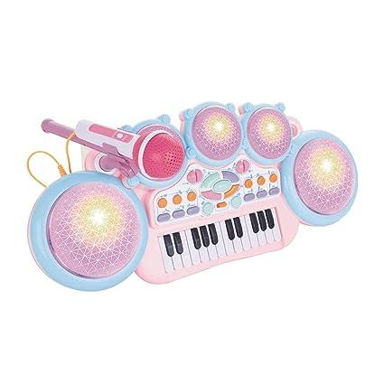 XUEYING-TOY Juguete Teclado El Juguete del Teclado de los niños Puede Tocar el Piano
