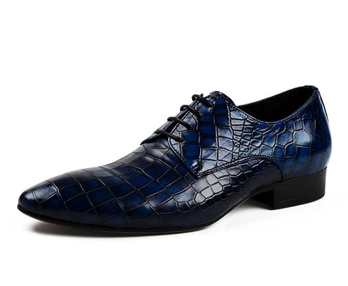 De Cordones Zapatos Estrecha Punta Con Para Ocasionales DHE9eW2IbY