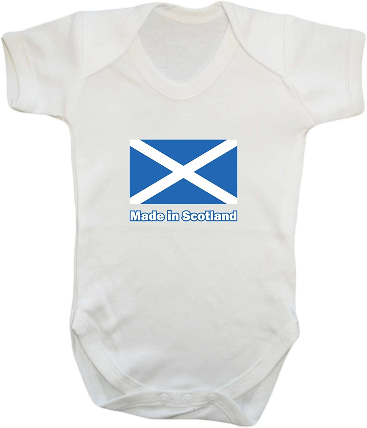 Badass Babies Made in Scotland Babygrow