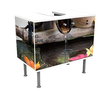 wandmotiv24 Mueble de baño Fontaine Dans un Jardin Zen ...
