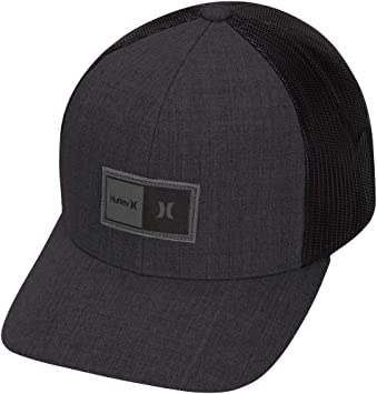 Hurley M The Regular Hat Gorras, Hombre, Negro, Talla Única ...
