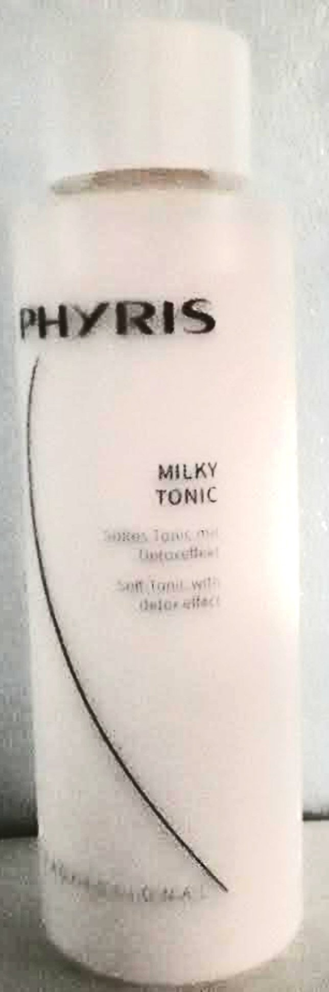 Phyris Milky Tonic 400 ml Pro size. Soft Tonic with detox effect. For a soft, smooth and clean skin sensation