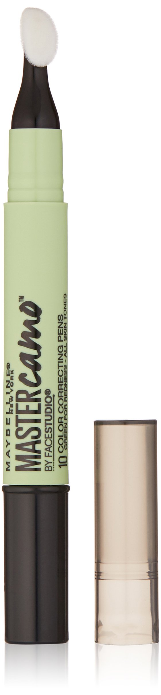 Maybelline New York Master Camo Color Correcting Pen, Green For Redness, all, 0.05 fl. oz.