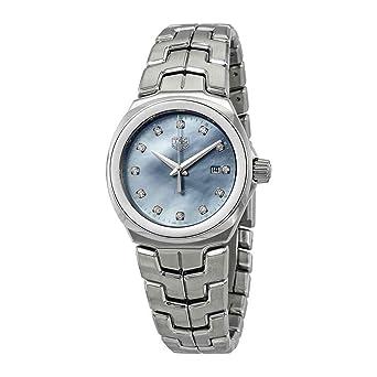 20b340e7715 Amazon.com  Tag Heuer Link Diamond Ladies Watch WBC1313.BA0600  Watches
