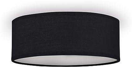 Smartwares Plafón Mia 6000.538 de Ranex, 30 cm, Negro: Amazon.es: Iluminación