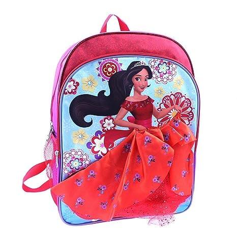 Amazon.com  Disney Elena of Avalor Elena 16 inch Backpack with Side ... 585f0ae607238