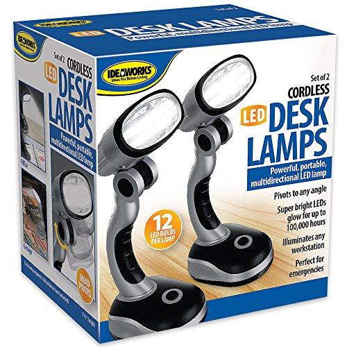 Jobar LED Desk Lamp - Set of 2 - bedroomdesign.us