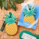 Pineapple Themed Luggage Tag Travel Favors, 24