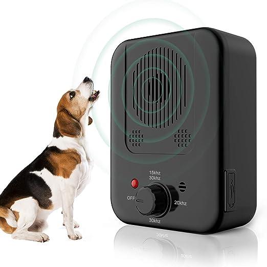 BO-sense Dispositivo para Detener ladridos, Caja antiladridos Control ultrasónico de ladridos para Perros, Control sónico para disuadir ladridos, Uso en Interiores y Exteriores, Rango de 30 pies: Amazon.es: Productos para mascotas