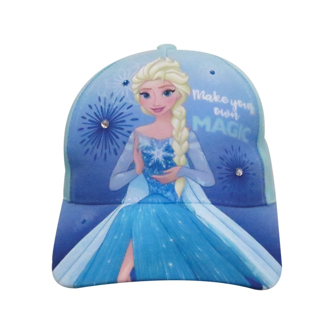 Disney Frozen Toddler Girls Elsa Baseball Cap - 100% Cotton