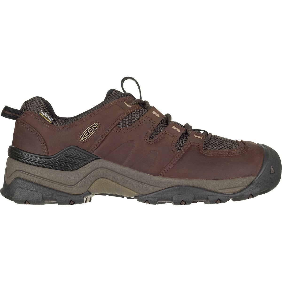 KEEN Men's Gypsum Ii Wp-m Backpacking Boot, Grand Canyon/Dark Earth, 7.5 M US by KEEN