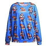 Zenicham Women's Adult Long Sleeve Sweatshirt Pullover