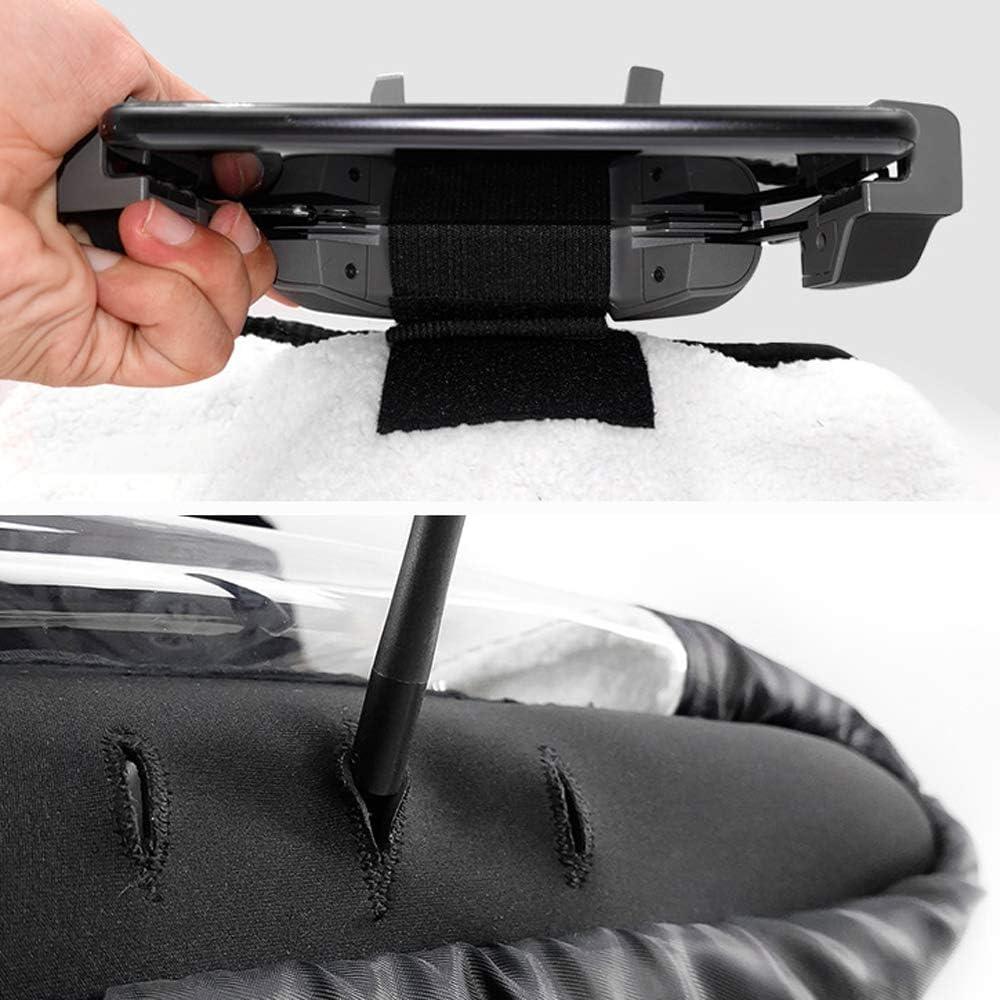 Flycoo Gants Couverture de T/él/écommande Contre Le Vent pour DJI Mavic Mini//Pro//Air//Spark etc Perm/éable Chaud Hiver Protection Contre Le Froid Parapluie Neige