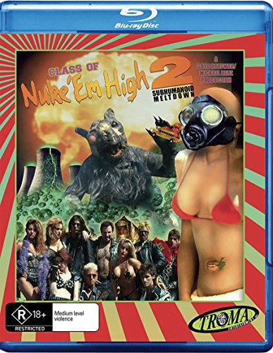 Class of Nuke 'em High Part 2 | NON-USA Format | Region B Import - Australia