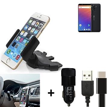 K-S-Trade® Top Set Compatible con Ulefone Power 3 Soporte ...