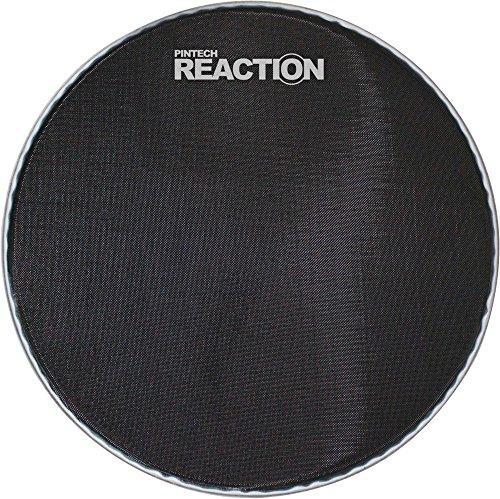 Pintech Percussion Reaction Series - Cabezal de malla, Reaction Series, Negro, 24'