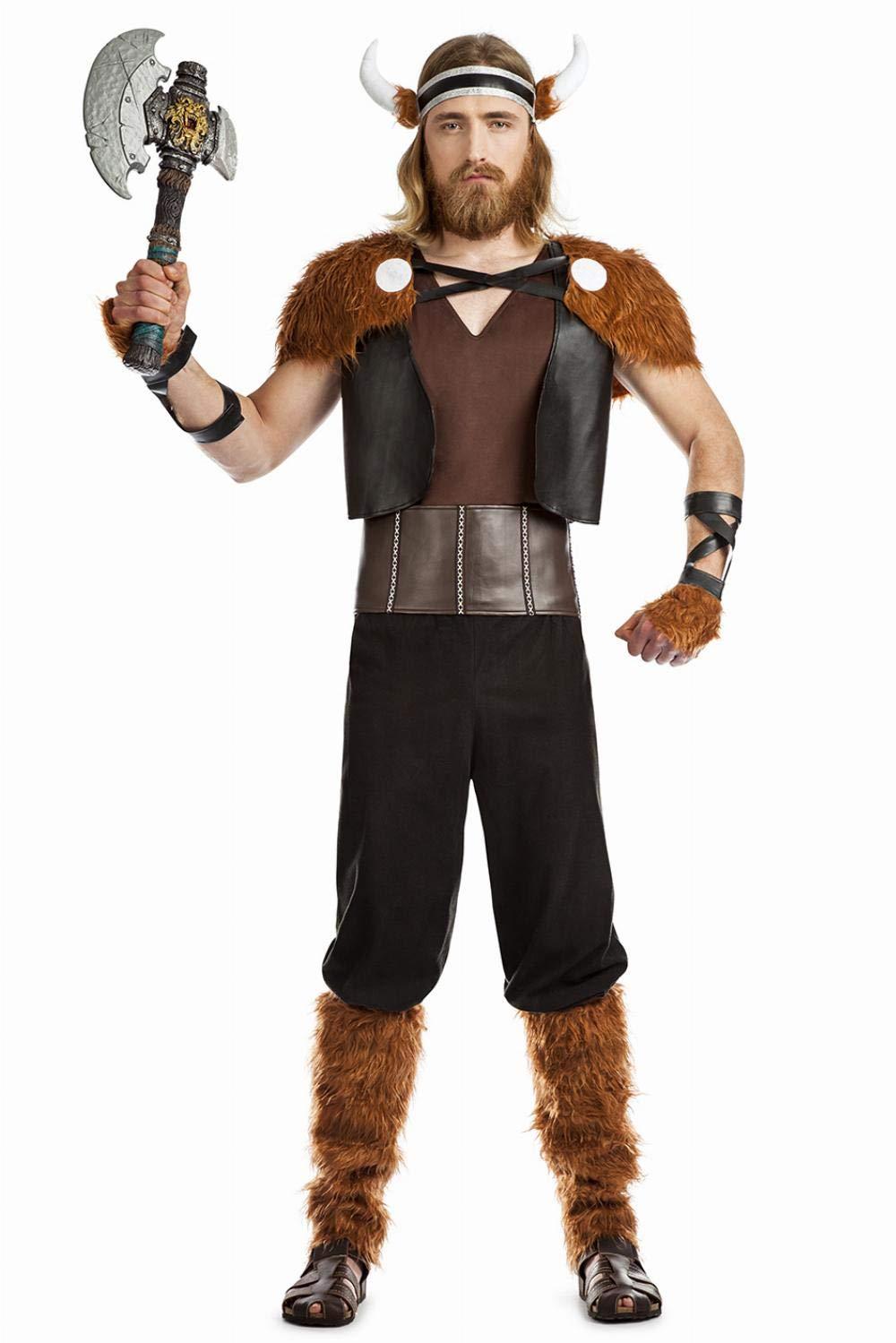 Disfraz de Guerrero Vikingo para hombre: Amazon.es: Juguetes y juegos
