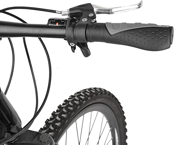 LeSB BMX Grips de VTT de montagne V/élo Guidon Poign/ée en caoutchouc souple Bar End