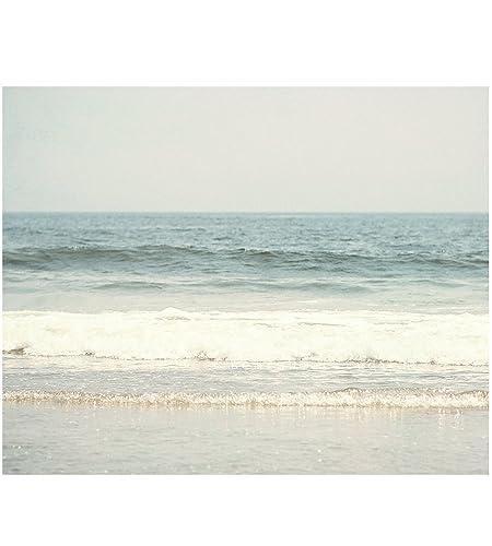 amazon com blue ocean waves print beach home decor photo beach rh amazon com