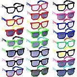 Lot of 24 Nerd Glasses - Buddy Holly (Multi, 8Bit) Sunglasses BROWCHO