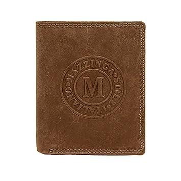 Damen Luxus Echt Leder Geldbeutel Geldbörse Brieftasche Dunkel Braun