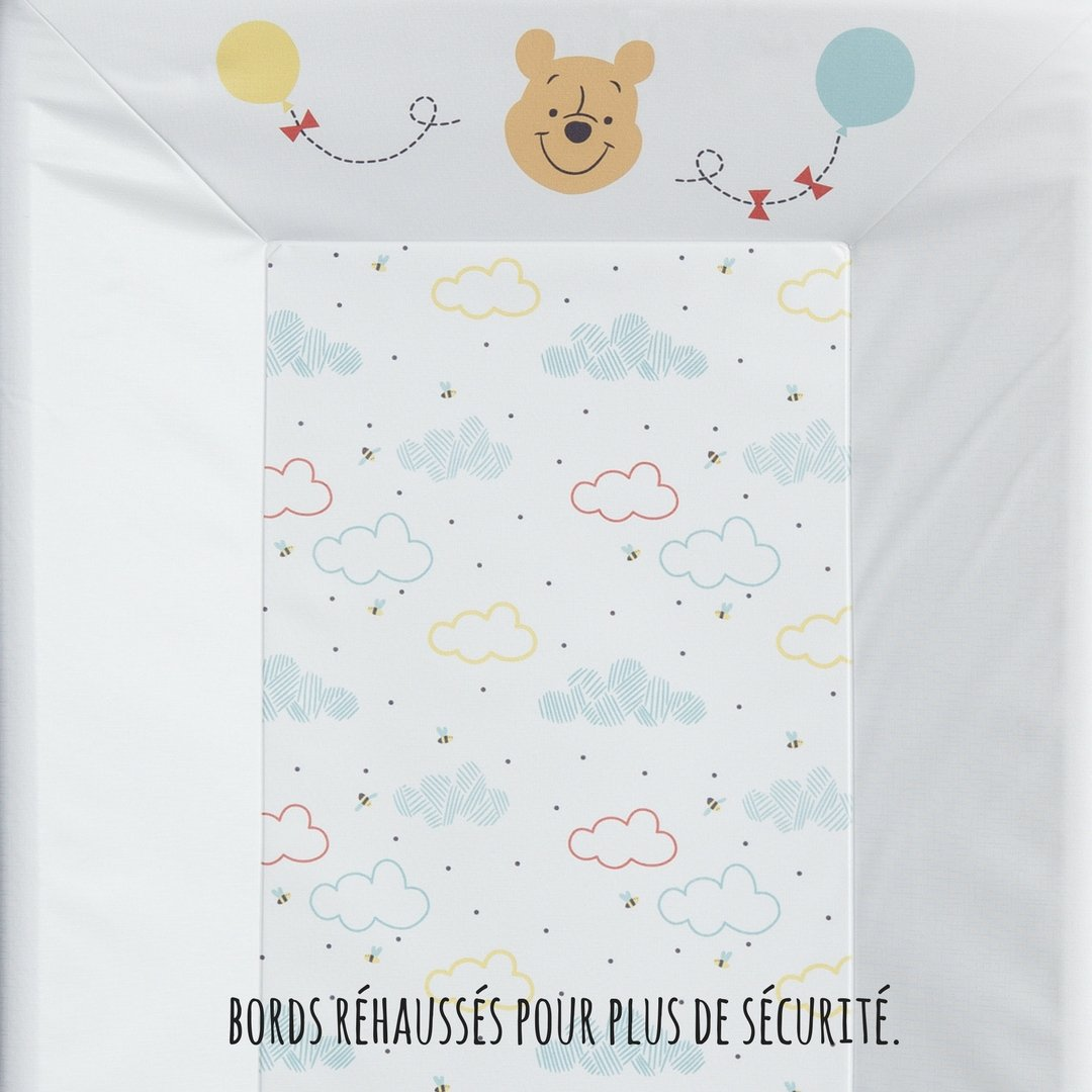 Babycalin Winnie Hello Funshine Matelas /à Langer Luxe 50 x 70 cm
