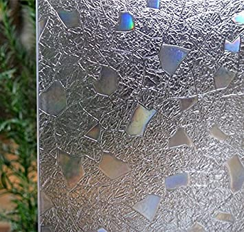 Amazoncom Bloss 3D Static Cling Window Film Stained Glass Window