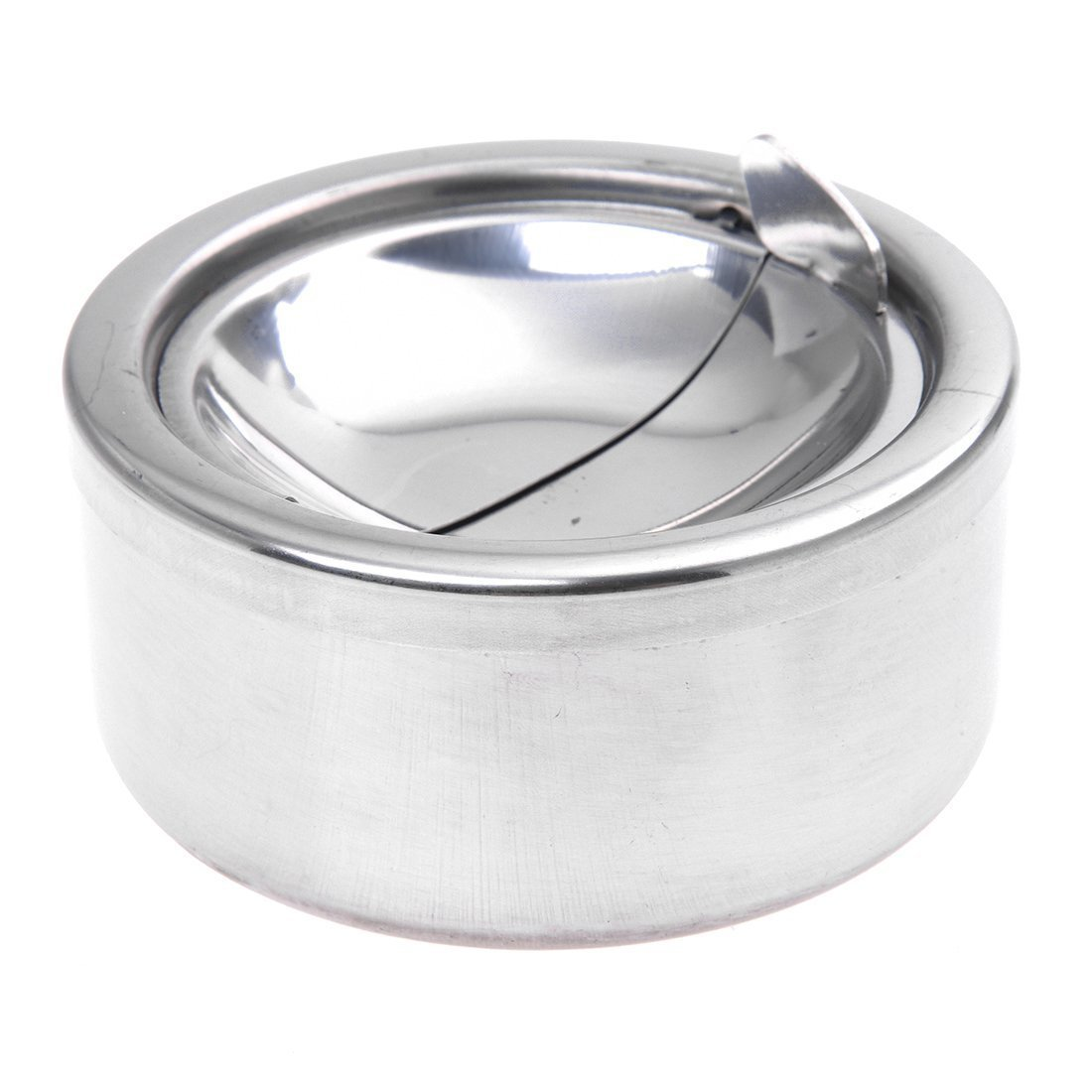 Posacenere coperchio incernierato Ascher Altezza 5,5 cm di diametro: 12 cm R SODIAL Portacenere