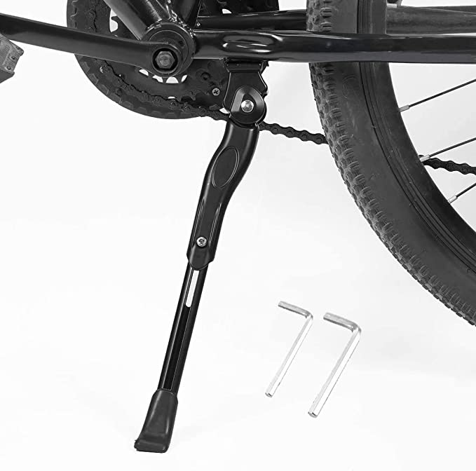mzcurse MTB Bicycle Kick Stand Parking Rack Kickstand Side Stand Support