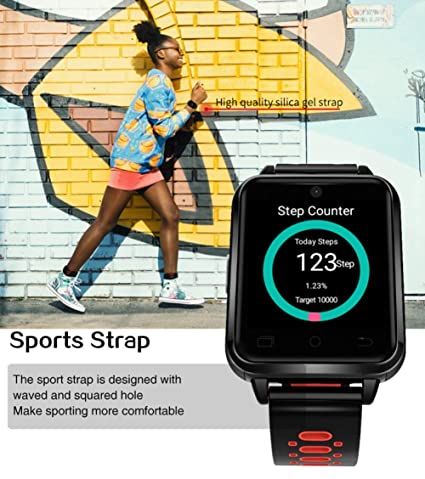 Smart Watch 4G TeléFono MóVil Android Monitor De Ritmo ...