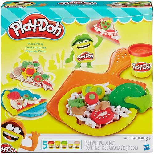 Play-Doh Pizza Party Set, Masterpiece To Your Friends And Family (Party Playset Pizza)