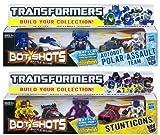 Transformers Bot Shots Battle Game Polar Assault Team & Stunticons Set