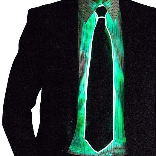 Corbatas Led Corbatas Luminosas, Corbata A Rayas Intermitente ...