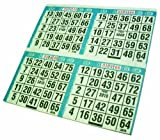 Crafty Dab Paper Primo Bingo Sheets 8-inch x 8-inch 12-500 Games by Crafty Dab