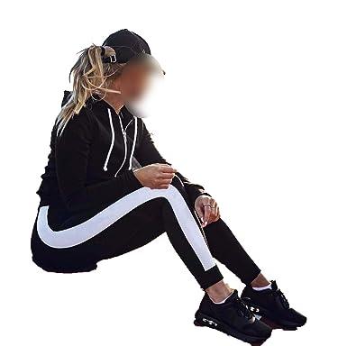 bd6d5ab6527f35 Amazon.com: Women Sport Leggings Fitness Yoga Pants Black White Athletic  Leggings Sport Tight Mallas Mujer Deportivas Gym Clothes Running: Clothing