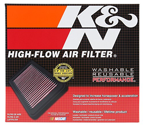 K&N E-1999 High Performance Replacement Air Filter by K&N (Image #1)