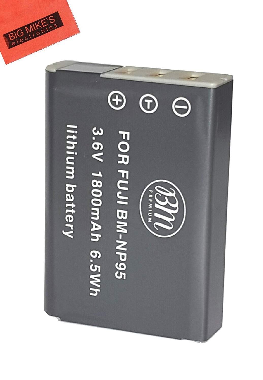 BM プレミアム NP-95 バッテリー 富士フイルム FinePix XF10 X30 X100 X100S X100T X-S1 デジタルカメラバッテリー用   B07H41DWX5