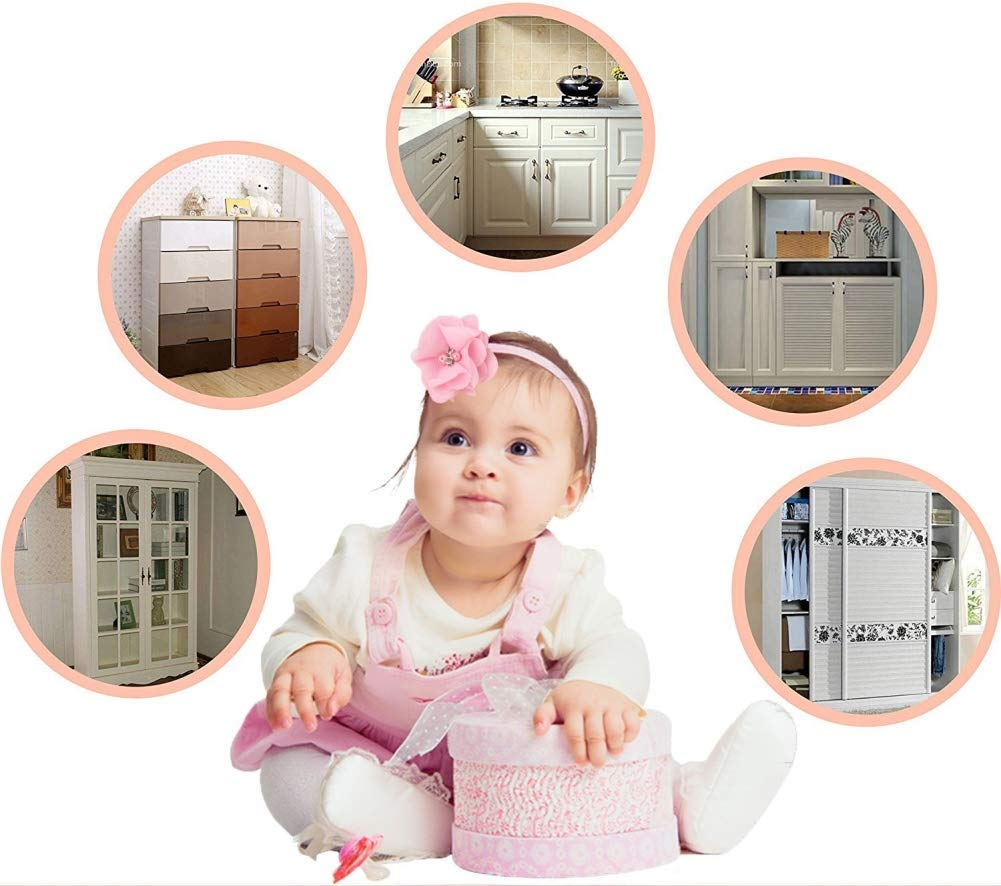 cassetti per armadietti frigoriferi facili da installare armadietti senza bisogno di attrezzi nastro adesivo resistente 10 serrature di sicurezza per bambini