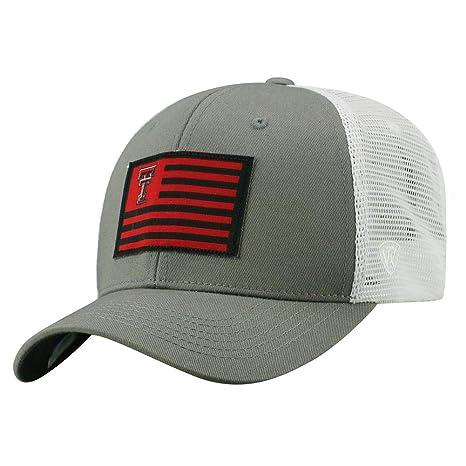 quality design f0df5 05562 usa texas tech red raiders cowboy hat 23bcc 3dc00  canada top of the world  texas tech university mens trucker hat brave snapback cap 9ccd0 cc4e7