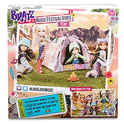 Bratz Music Festival Vibes Tent Playset: Toys & Games