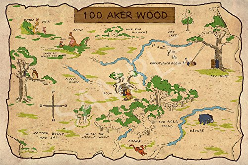 100 aker wood map - 7